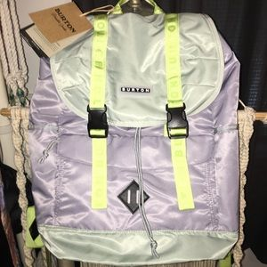 Burton pastel/neon backpack